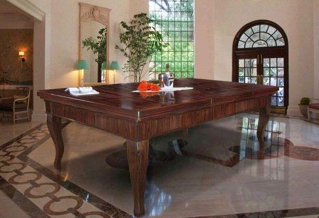 Billardtisch als Esstisch Canossa