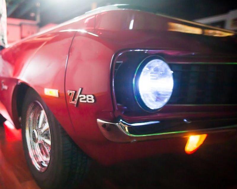US Car Billardtisch 1969 Camaro
