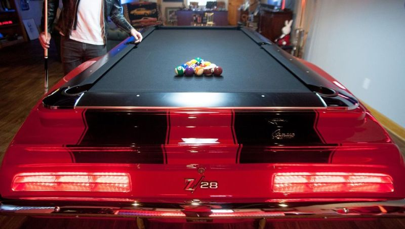 Car Pool Table Camaro