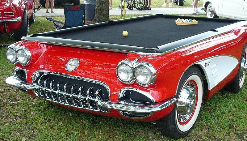 Car Pool Table Corvette