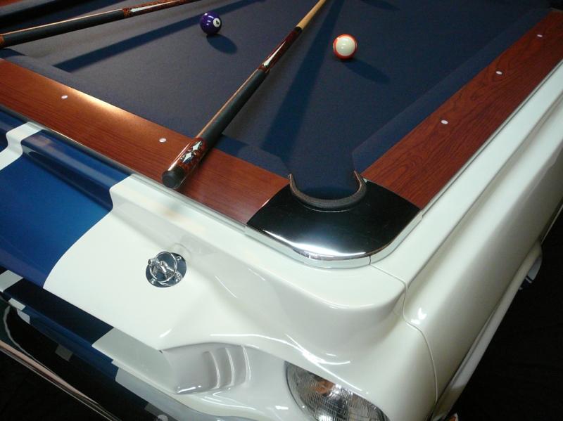 US Car Billardtisch Shelby Spielfläche