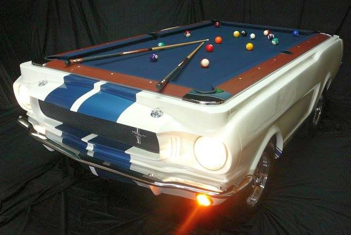US Car Billardtisch Shelby