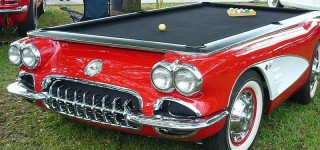 Billardtisch Corvette US Car