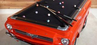 US Billardtisch Ford Mustang
